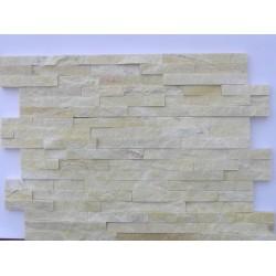 Panel Kamienny 60x15 żółta z przerostami