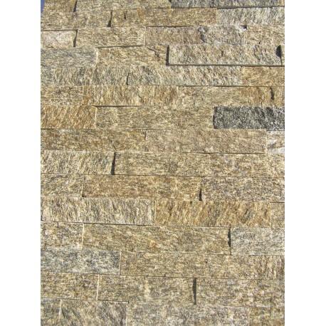 Panel Kamienny 60x15 kwarcytowa z naturalnymi przerostami
