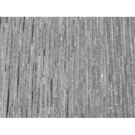 Panel Kamienny 60x15 granitowy, ciemny popiel, błyszczący