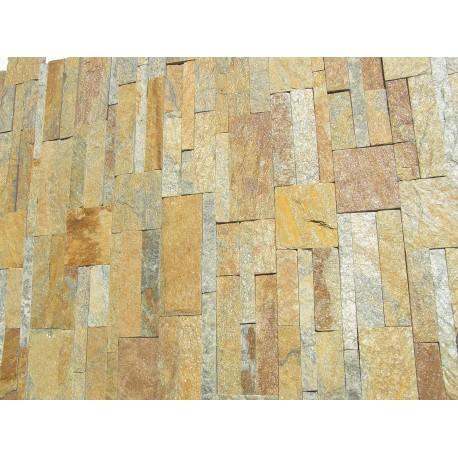Panel Kamienny 18x35cm rudo-szary