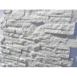 Panel Kamienny 18x35cm biały ,połysk