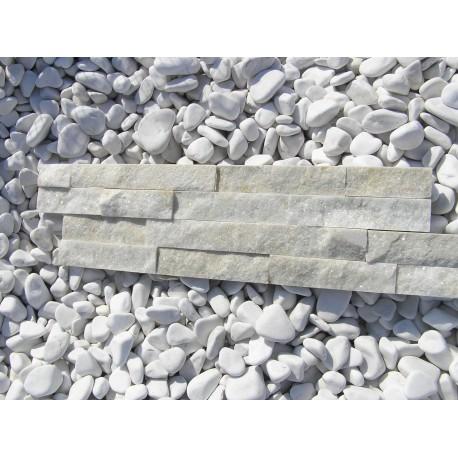 Panel Kamienny 55x15 biało-beżowy