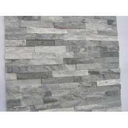 Panel Kamienny 55x15 biały popiel połysk