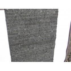 Panel Kamienny 60x15 granitowy czarno-ciemno zielony , błyszczący