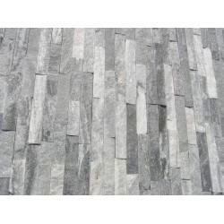Panel Kamienny 55x15 biało - popielaty