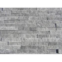 Panel Kamienny 60x15cm granitowa ciemno szara